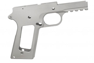 80% 1911 BILLET 7075 ALUMINUM FRAME GOVERNMENT TACTICAL